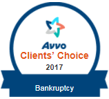 Avvo Clients Choice 2017 | Bankruptcy